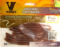 Силикон Winner Earth Worm TBR-023 5,0'' 127мм 2,8гр 10шт Col 012
