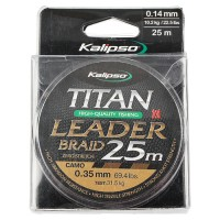 Шнур Kalipso Titan Leader Braid Camo 25м 0.20мм