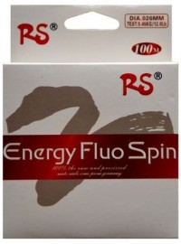 Леска RS Energy Fluo Spin 100м 0.25мм white