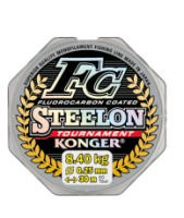 Леска Konger Steelon FC Tournament 0,14 мм 30 м (прозрачная)