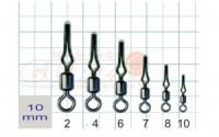 Застежка Gurza Rolling swivel/Line Clip SWS-9000 №2