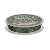 Шнур Kalipso Titan Leader Braid Silt 25м 0.16 мм
