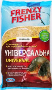 Прикормка Frenzy Fisher 1000гр Универсал-мотыль