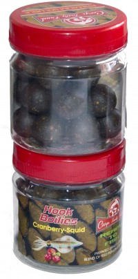 Бойлы Carp Tasty Food насадочный Premium 20 mm Soluble Cranberry-Squid