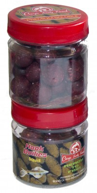 Бойлы Carp Tasty Food насадочный Premium 20mm SolubleSquid