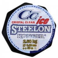 Леска Konger Steelon ICE Cristal Clear Fluorocarbon Coated 0,12mm/50m